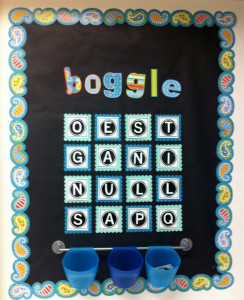 FUN FRIDAY: Boggle board