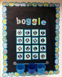 FUN FRIDAY: Boggle board