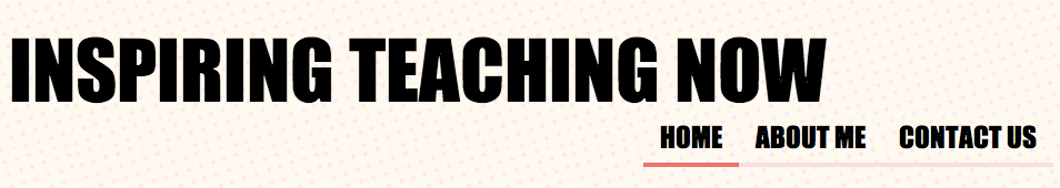 Inspiring Teaching Now banner