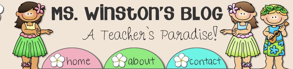 Ms Winstons blog
