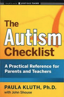 Book cover for Paula Kluth's The Autism Checklist