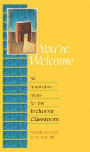 Book cover for Paula Kluth's You're Welcome