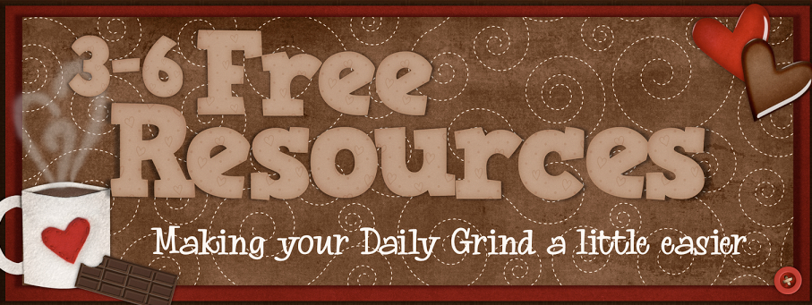 3-6 Free Resources banner