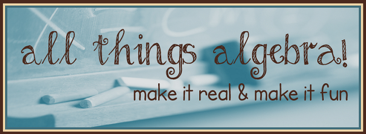 All Things Algebra banner