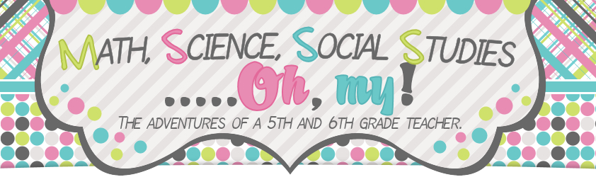 Math Science Social Studies Oh My banner