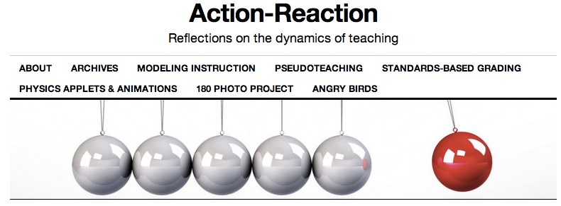 Action Reaction banner