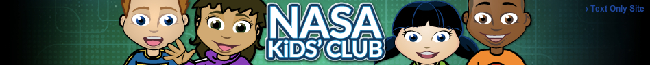 NASA Kids Club banner