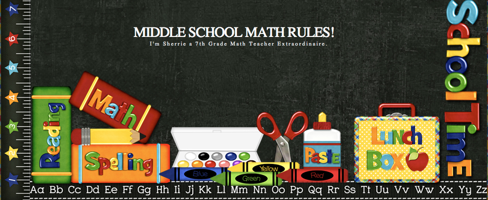 Middle School Math Matters banner