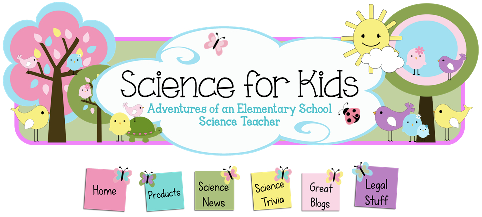 Science for Kids banner