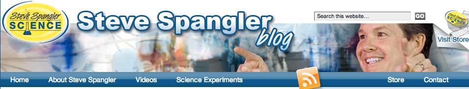 Steve Spangler banner