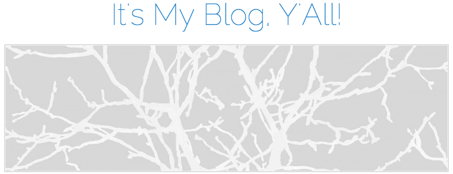 Its My Blog Y'all banner