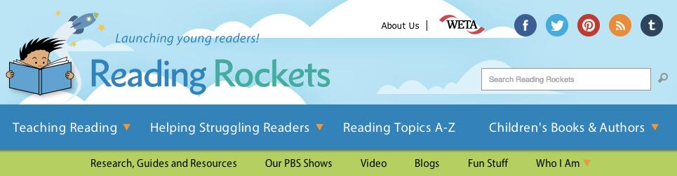 Reading rockets banner