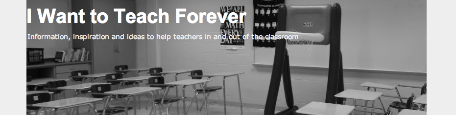 I Want to Teach Forever banner