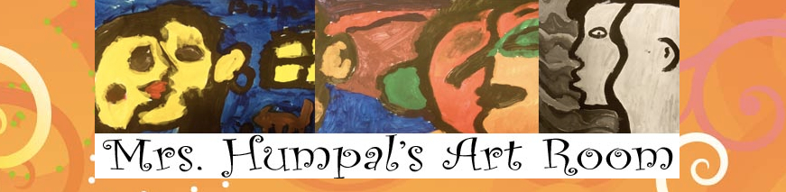 Mrs Humpals Art Room banner