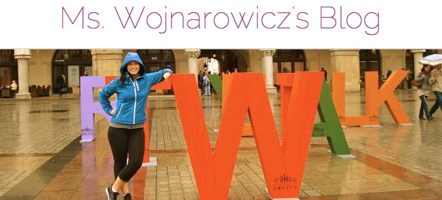 Mrs Wojnarowicz banner