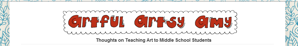 Artful Artsy Amy banner