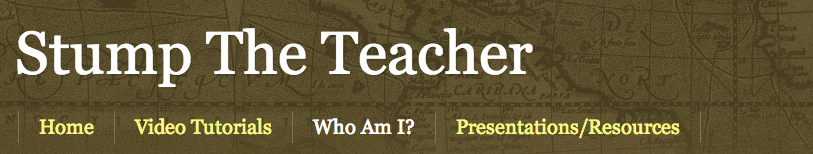 Stump the Teacher banner