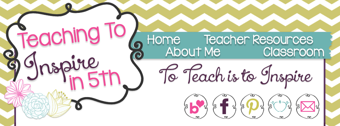 Teaching to Inspire in 5th banner