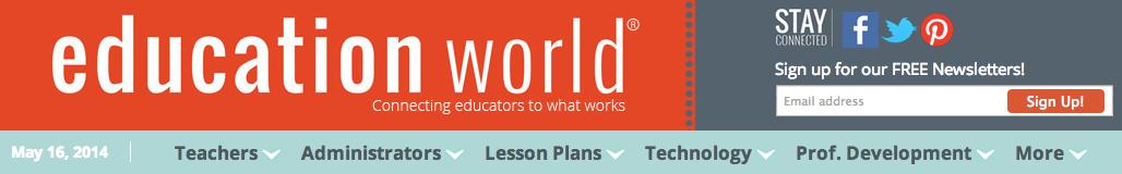 Education World banner