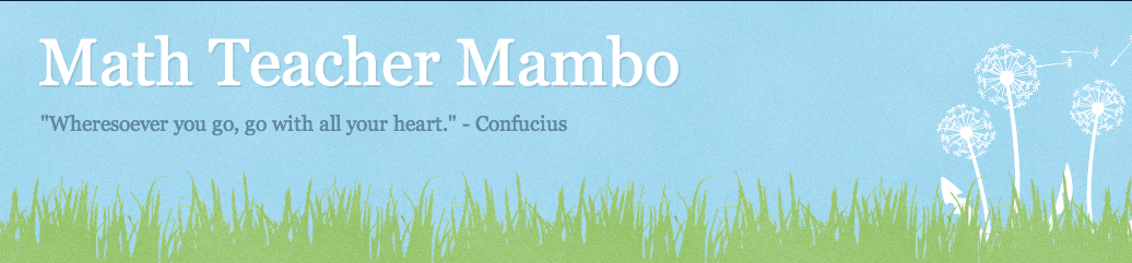 Math Teacher Mambo banner