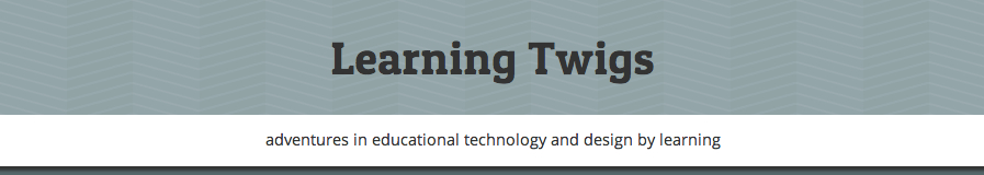 Learning Twigs banner