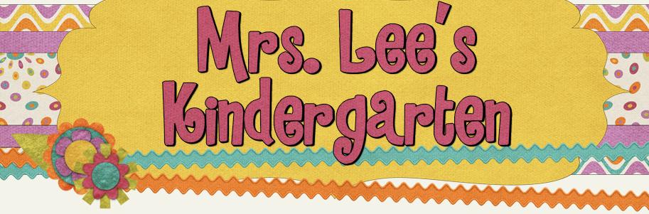 Mrs Lees Kindergarten banner