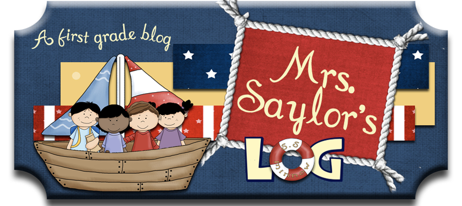 Mrs Saylors Log banner