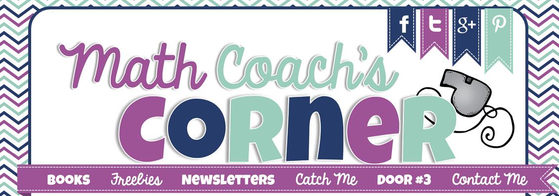 Math Coach's Corner banner