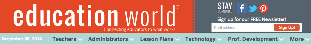 Education World banner