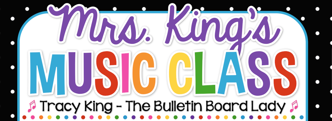 Mrs. Kings Music Class banner