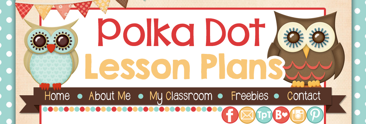 Polka Dot Lesson Plans banner