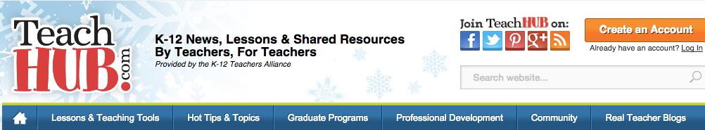 Teach Hub banner