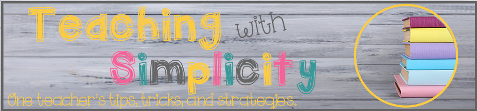 Teaching with Simplicity banner