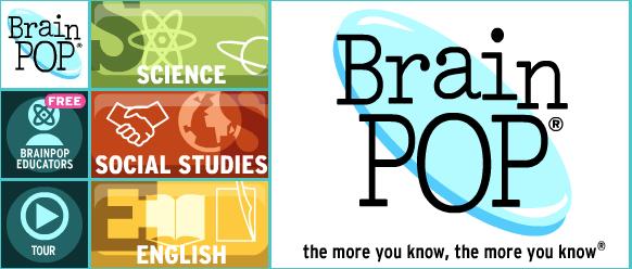 Brain Pop banner