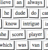 Online Magnetic Poetry