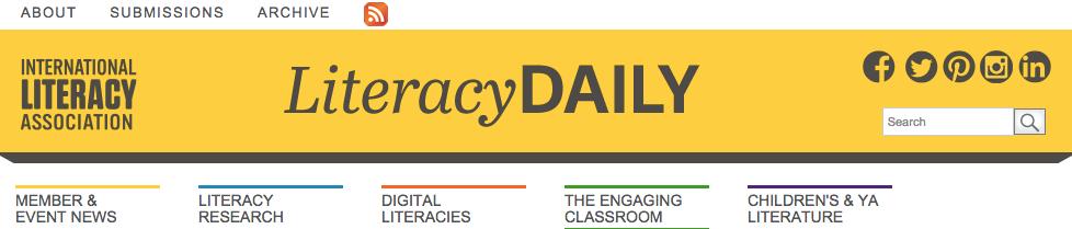 International literacy assoc banner