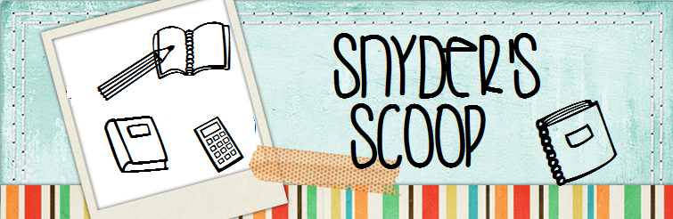 Snyder's Scoop banner