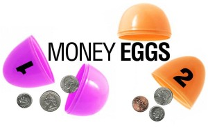 Egg-cellent way to teach money