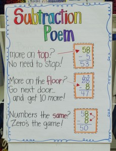 Sing a song about subtraction